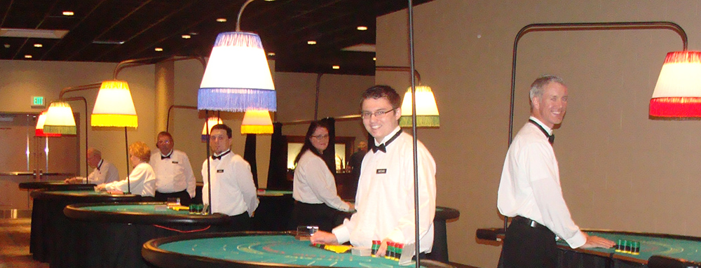 Casino Party Event Staff at the JW Marriott Hotel in Indianapolis, Indiana
